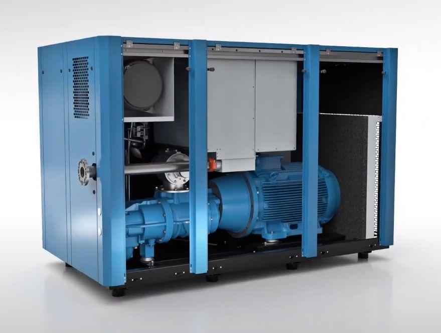 Šroubové kompresory jsou dnes ve výrobních firmách samozřejmostí
